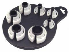 üzemanyag és légkondicionáló-cső bontó készlet, 7darabos