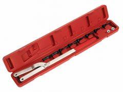Vezérmű fogaskerék lazító/szorító és ventilátor kuplung szerelő készlet adapterekkel, 11 darabos