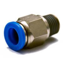 """műanyag-levegőcső dugaszolható csatlakozó, egyenes, külső menetes, 1/2"""", 16mm"""