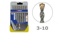 8 részes TECHNIC betonfúró készlet - B605