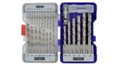 26 részes HSS CLASSIC csigafúró készlet - T520