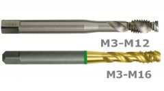 HSSEE ALU gépi menetfúró 35-45° - A506/A606/AT5