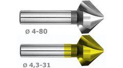90° HSSE kúpsüllyesztő - M431/M4831