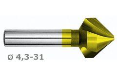 Kúpsülly.90f D 4,3 z3 d4 HSSE+TiN M4831