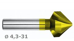 Kúpsülly.82f D 6,3 z3 d5 HSSE+TiN M4834