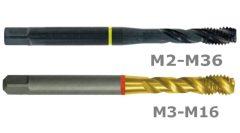 HSSE Co5 gépi menetfúró 35° - A205/A305/ST5