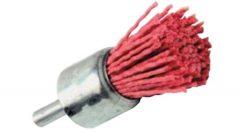Piros műanyagszálas ecsetkefe fához - T2044