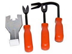 Patent kiszedő és ajtókárpit szétszerelő készlet, 4 darabos