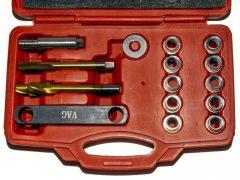 Féknyereg menetjavító készlet, VAG (VW-Audi Csoport), M12x1.5mm, 14 darabos