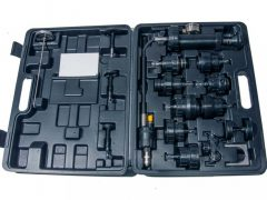 hűtőrendszer nyomásmérő készlet, 17 darabos