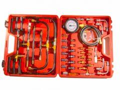 üzemanyag befecskendező nyomásmérő mester készlet (benzin), 70 darabos
