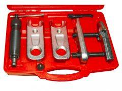 Hidraulikus gömbfej kinyomó készlet (gömbcsukló prés), teherautó/kamion, 30 - 34 - 40mm