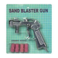 homokfúvó pisztoly + fúvóka készlet SBC220/350E/360-as homokfúvó szekrényhez