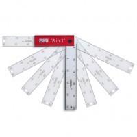 """BMI szögmérő 200mm """"8 in 1"""" 716200137"""