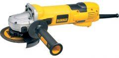 Dewalt D28136 125 mm-es, 1500 W-os Sarokcsiszoló fordulatszám szabályzóval és porkilökő rendszerrel