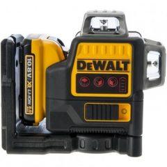 DeWalt DCE0811D1R Piros lézer 10,8V, 2x360