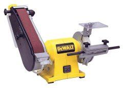 Dewalt DW755-QS vizes kettős köszörű/élező 125/45mm
