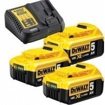 DeWalt DCB115P3-QW 18.0V AKKU PAKK