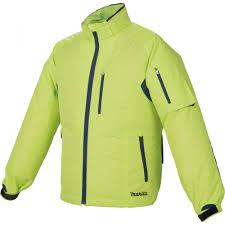 Makita 10,8-14,4V-18V CXT, LXT Li-ion NEON hűthető kabát 2XL
