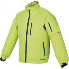 Makita 10,8-14,4V-18V CXT, LXT Li-ion NEON hűthető kabát XL