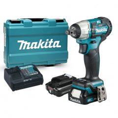 "Makita 12V max CXT Li-ion 145Nm ütvecsavarbehajtó 1/2"" 2x4,0Ah"