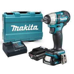 """Makita 12V max CXT Li-ion BL 165Nm ütvecsavarbehajtó 1/2"""" 2x2,0Ah"""