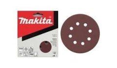 Makita Excenter papírok 125 mm piros 10db/csomag, szemcseméret:40-240