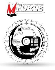 Makita M-Force körfűrésztárcsák 165x20mm-235x30mm