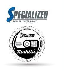 Makita Specialized körfűrésztárcsák merülő körfűrészekhez 160/165x20mm