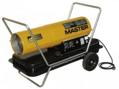 Master B150 Gázolajos, kémény nélküli hőlégfúvó
