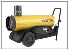 Master BV77 gázolajos, kéményes hőlégfúvó