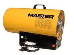 Master BLP73ET PB-gázzal működő fűtésberendezés