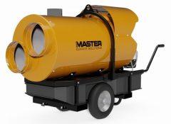 MASTER BV500-13C gázolaj üzemű (kéményes) hőlégfúvó 2 légkivezetéssel, (mobil fűtőberendezés)