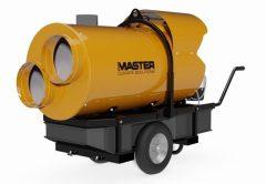 MASTER BV500-13CR gázolaj üzemű (kéményes) hőlégfúvó 2 légkivezetéssel, (mobil fűtőberendezés)