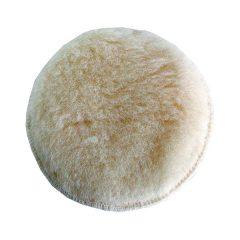 polírkorong, fehér, báránybőr (gyapjú); 125 mm, 407201, 8894201 és 8894202 excenter csiszolókhoz