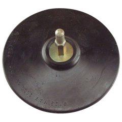 gumitányér  fúrógéphez; 125mm tépőzáras