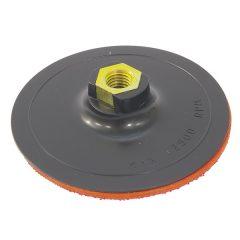 gumitányér sarokcsiszolóhoz; 115mm, tépőzáras, max. ford.:12.500 1/min