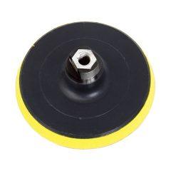 gumitányér sarokcsiszolóhoz; 125mm, tépőzáras, max. ford.:12.500 1/min