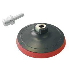 gumitányér fúrógéphez; 115mm, tépőzáras, max. ford.:12.500 1/min