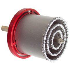 körkivágó klt. volfrám; (33-53-73mm) téglához, csempéhez, fúrógépbe fogható, hexagonális befogás