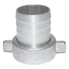 """tömlővég csatlakozó, rögzítő anyával, fém 2""""×2""""; acél ötvözet, 8895101 szivattyúhoz"""
