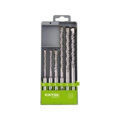 betonfúró klt. normál befogás ; 6db, 5-12mm, (5-6-8×110, 8-10-12×160)