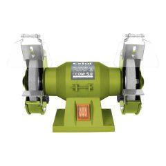 kettős köszörűgép 150W,száraz,125×12,7×16mm; 2950 ford/perc, P36, P80, 6kg