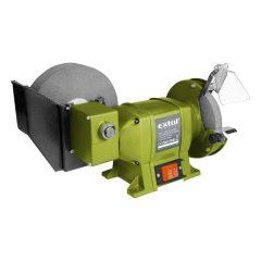 kettős köszörűgép 250W, vizes/száraz; 200mm×20×40/150×12,7×20mm, 134/2950 ford/perc, 8,5kg