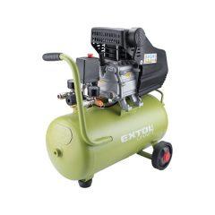 olajos légkompresszor, 1100W, 24l tartály, 8 bar, beszívott levegő: 154l/min
