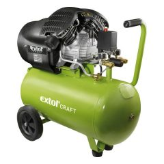 olajos légkompresszor, 2200W, 50l tartály, 8 bar; 412l/min