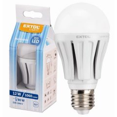 LED-es villanykörte, 8W, 640 lumen (50W hagyományos), E27 foglalat, 3000K-Meleg Fehér színű, A energiaosztályú