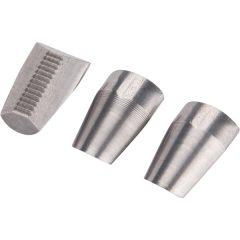 húzópofa klt., 3db, 10 mm, csak a régebbi típusú 4770610, 8813750 popszegecsúzóhoz, CrVMo FORTUM