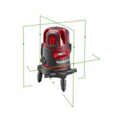 """automatikus lézeres vízszintező, ZÖLD, 1H4V6D (1 horizontális+ 4 vertikális+ 6 pont) pontosság:0,2mm/1m, 5/8"""" menet"""