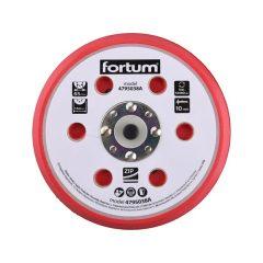 """tartalék gumi talp 4795038 rotációs csiszológéphez, 6""""/150mm, 6+16 db lyuk, tépőzáras, 12.000 f/perc, vastagság:10mm"""